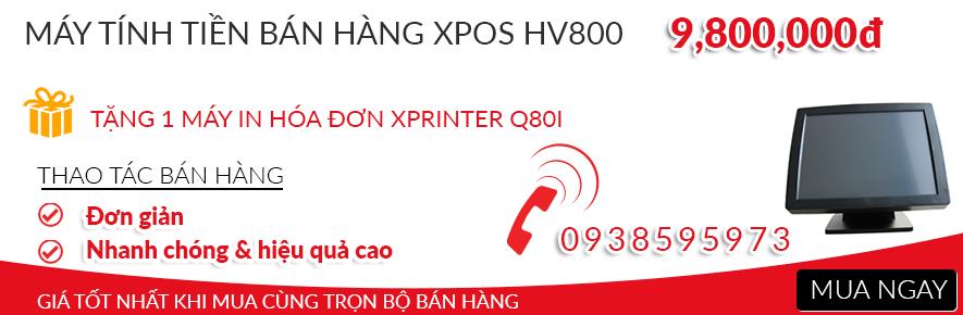 MÁY TÍNH TIỀN BÁN HÀNG XPOS HV800