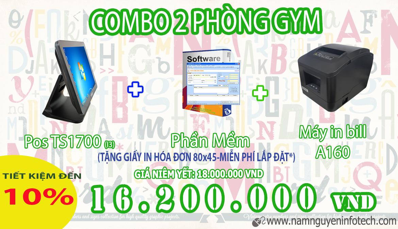 COMBO 2 PHÒNG GYM