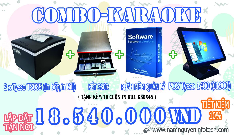 Combo Karaoke (-10%)