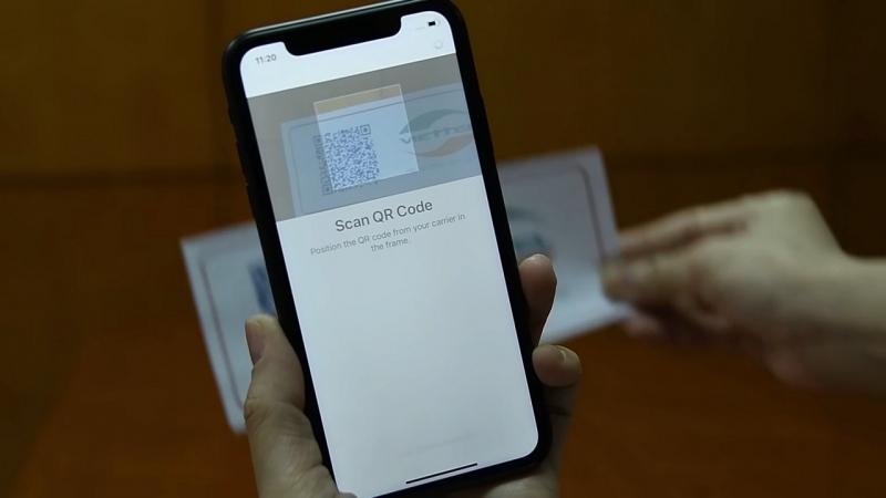 Cách cài đặt máy quét mã vạch cho iphone