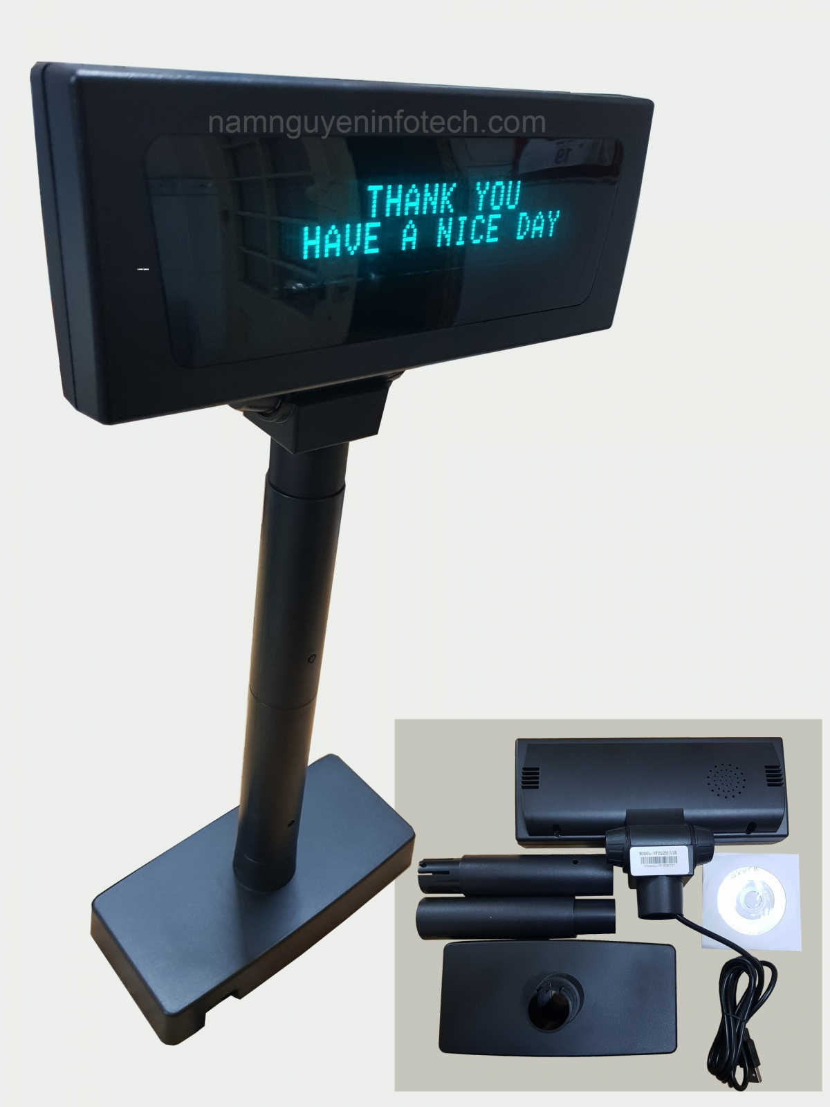Màn hình hiển thị giá VFD2200 Plus