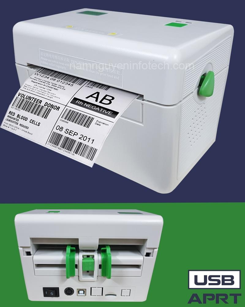 Máy in mã vạch APRT D40 (USB)