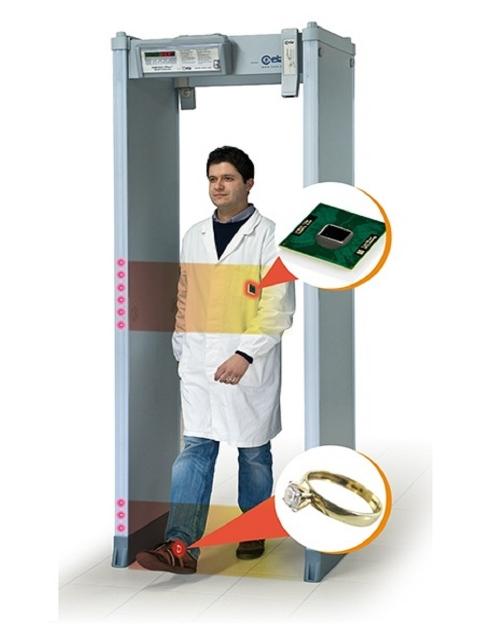 Cổng dò kim loại SMD601 Plus CEIA - Italia