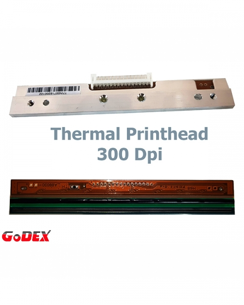 Đầu in 300DPI Godex G530,RT730,EZ330,EZ530,BP530L,EZ130
