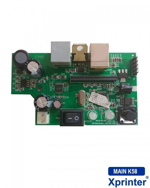 Mainboard máy in hóa đơn Xprinter K58