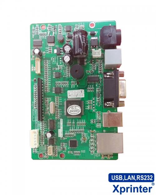 Mainboard máy in hóa đơn Xprinter K80 ba cổng (USB,LAN,RS232)