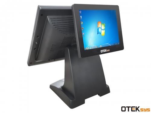 Màn hinh cảm ứng Otek OT15TB (2 màn hình)