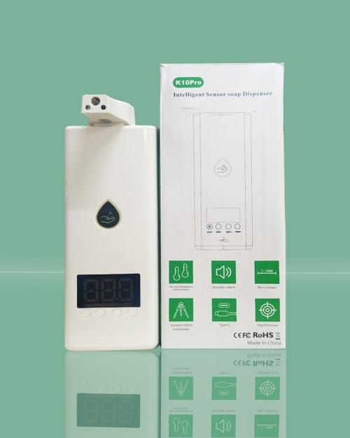 Máy đo thân nhiệt và xịt khuẩn K10 Pro Plus