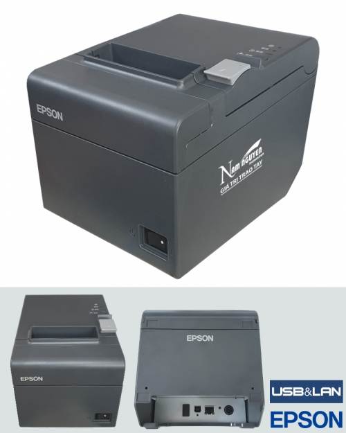 Máy in hóa đơn Epson TM-T82II (USB,LAN)