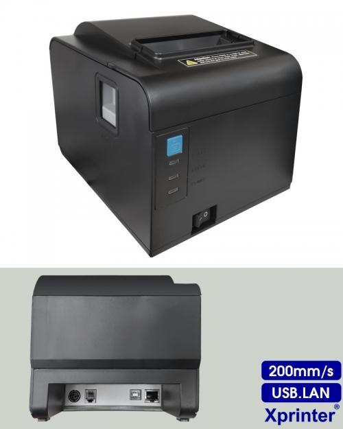 Máy in hóa đơn Xprinter A160MII (USB,LAN)