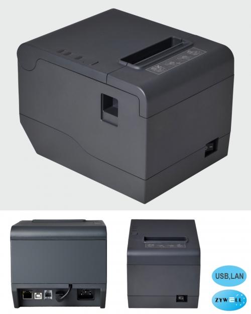 Máy in hóa đơn Zywell Zy808 (USB,LAN)