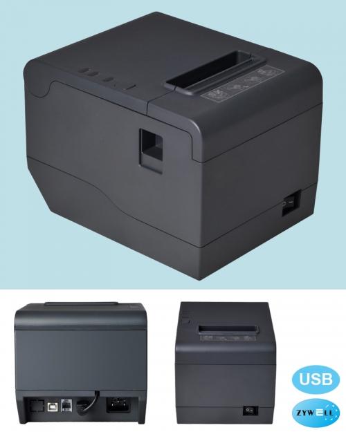 Máy in hóa đơn Zywell Zy808 (USB)