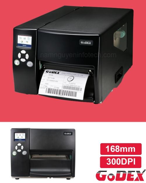 Máy in mã vạch công nghiệp Godex EZ6350i