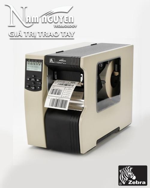 Máy in mã vạch công nghiệp Zebra 110Xi4 (300dpi)