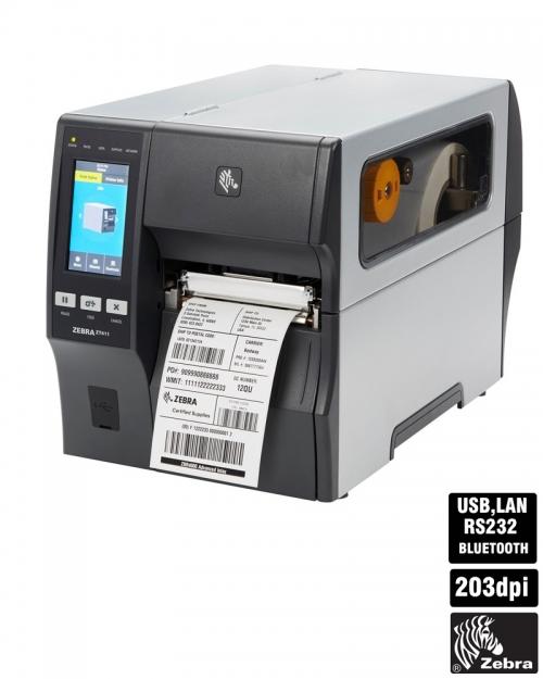 Máy in mã vạch công nghiệp Zebra ZT411 (203dpi)