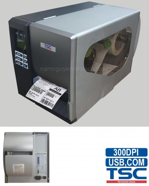 Máy in mã vạch TSC TTP-344M Pro (Dao cắt)