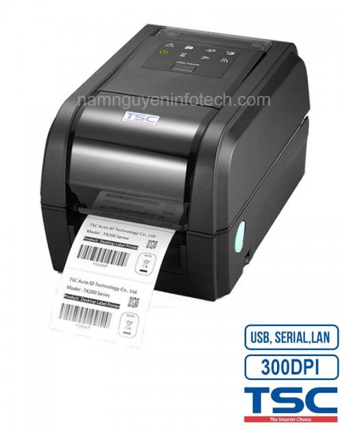 Máy in mã vạch TSC TX300