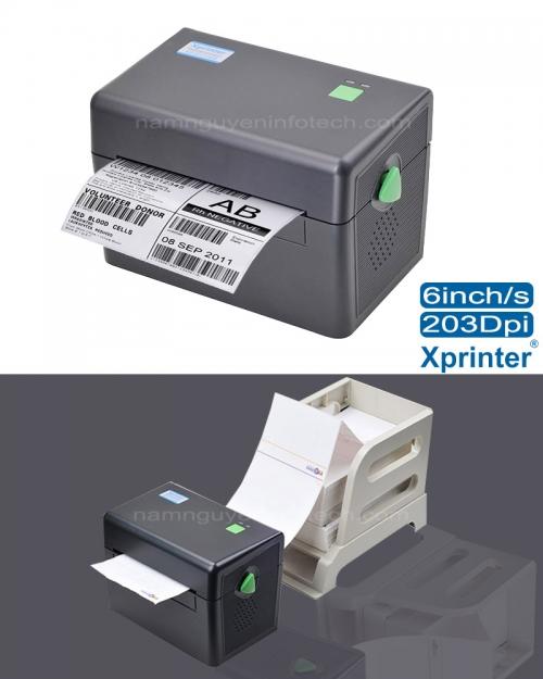 Máy in mã vạch Xprinter DT108B