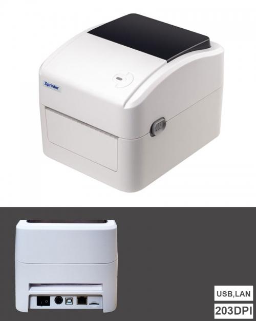 Máy in mã vạch Xprinter XP-420B (USB,LAN)