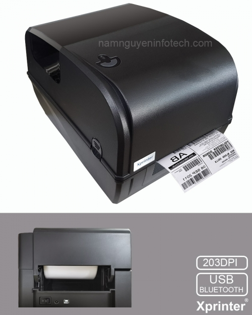 MÁY IN MÃ VẠCH XPRINTER XP-TT426B (BLUETOOTH, USB)
