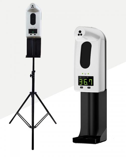 Máy đo thân nhiệt và xịt khuẩn/sát khuẩn V18 Pro