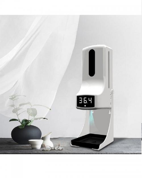 Máy đo thân nhiệt và xịt khuẩn/sát khuẩn MKXC-K9PR