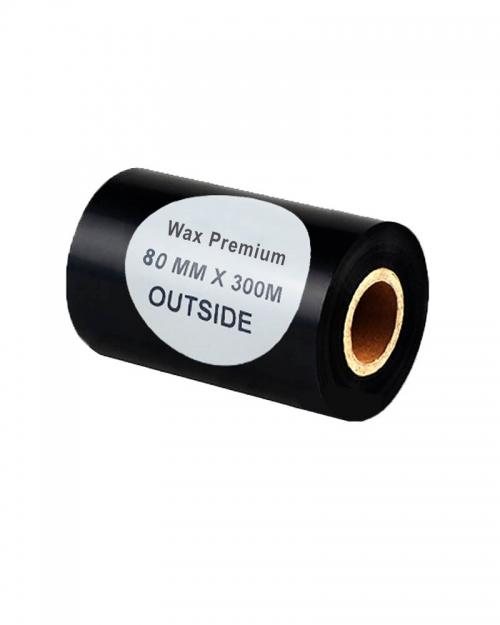 Mực in mã vạch Wax premium (80mmx300m)