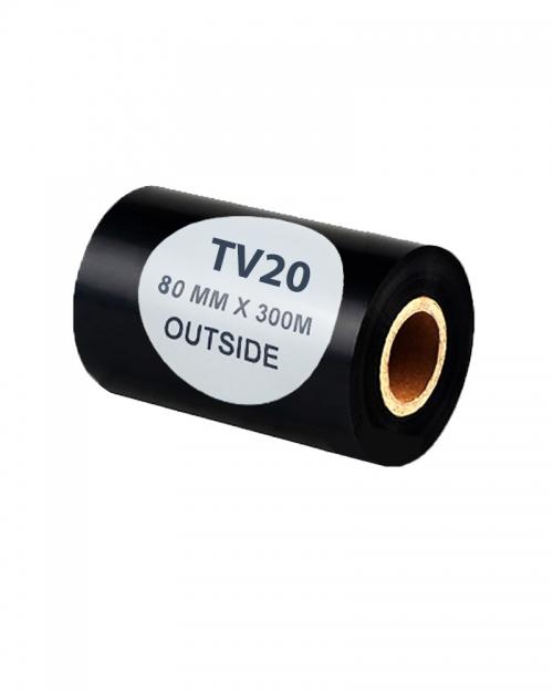 Mực in mã vạch WAX TV20 (80mx300m)