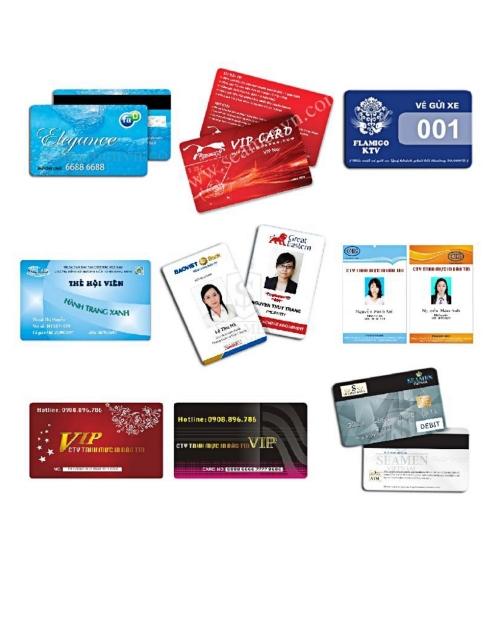 Thẻ thành viên - nhân viên- thẻ xe