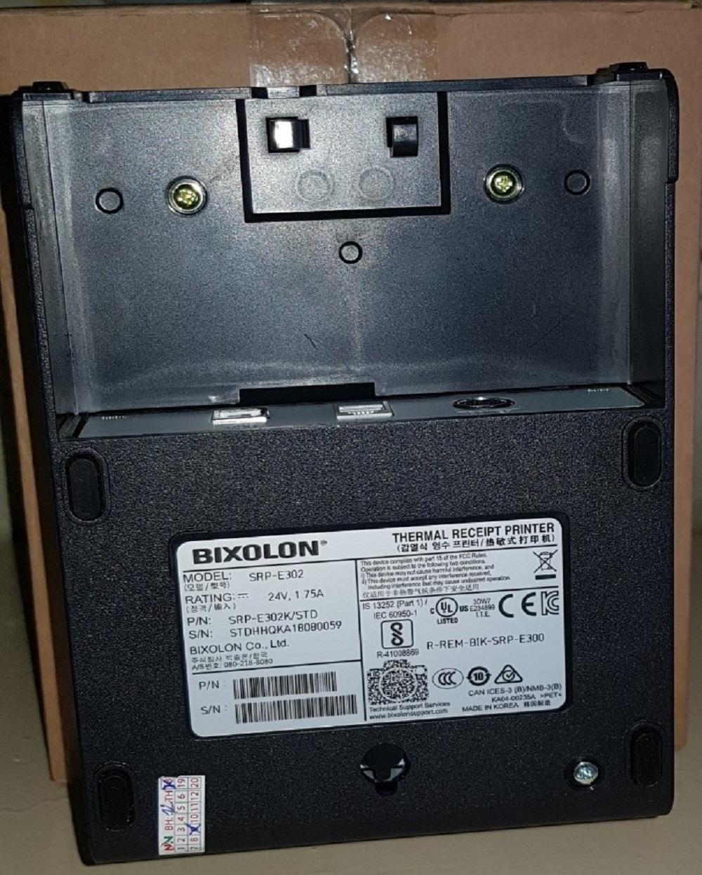 Máy in hóa đơn BIXOLON SRP-E302K (USB+LAN+RS232)