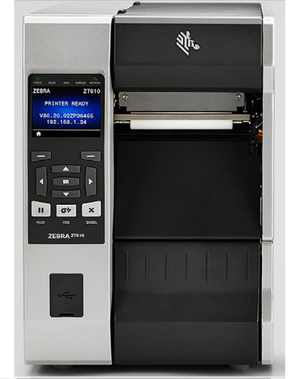 Máy in mã vạch công nghiệp Zebra ZT610