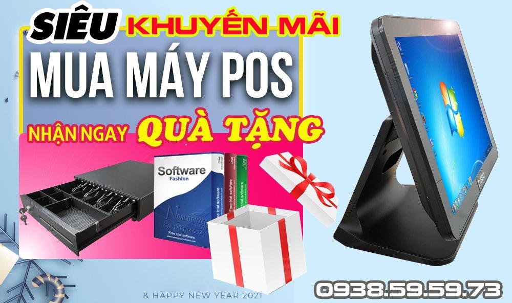 Siêu khuyến mãi mua máy POS nhận ngay quà tặng